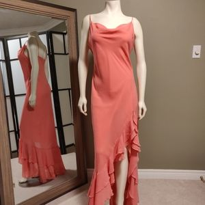 Beautiful coral dress